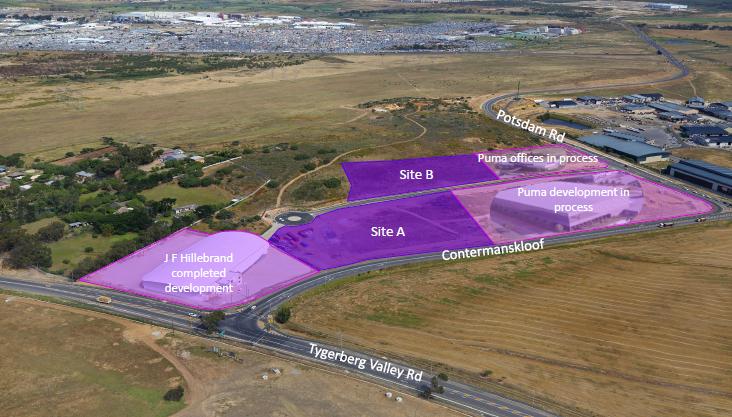 The new upmarket industrial zone